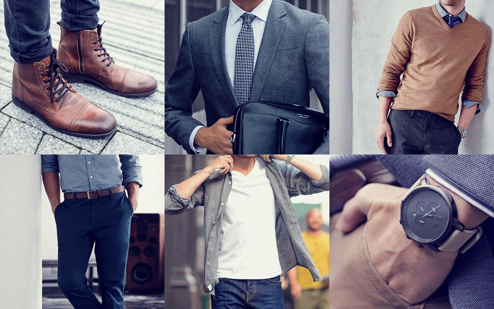 Von Uhren, Hemden & Anzügen