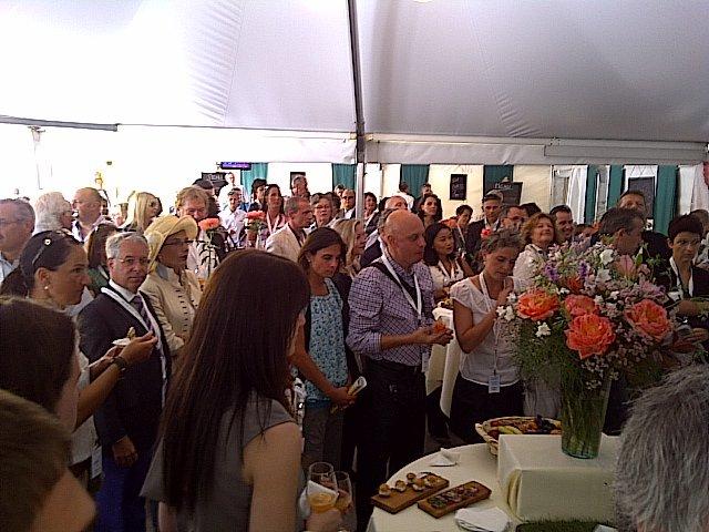 Event anlässliche des Prix Élégance