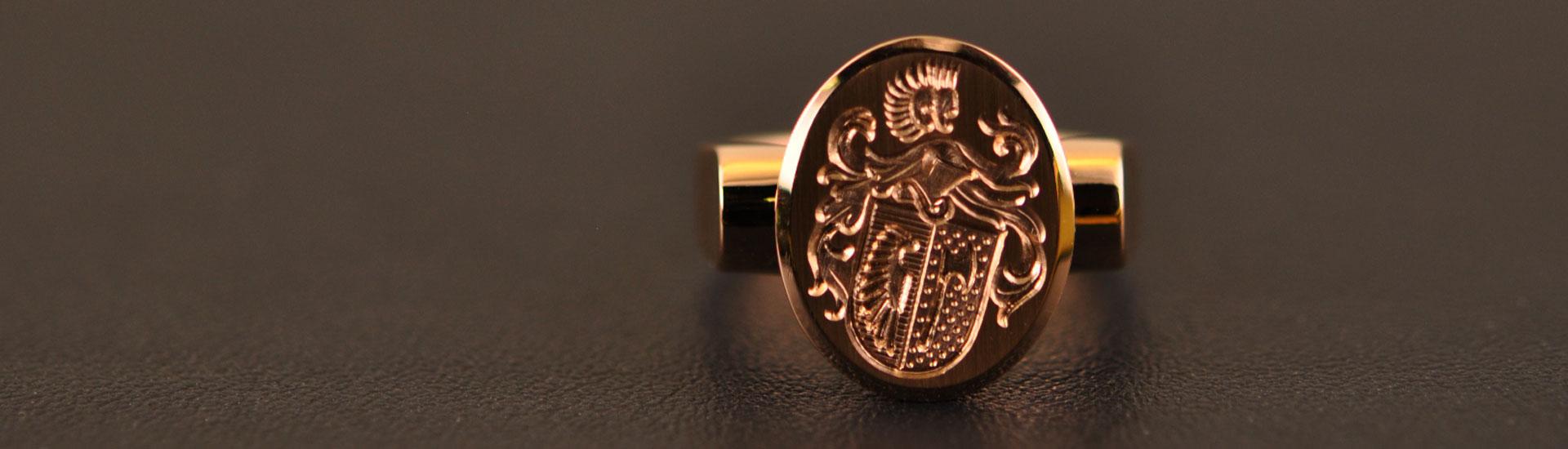 Siegelringe von Gygax Juwelier
