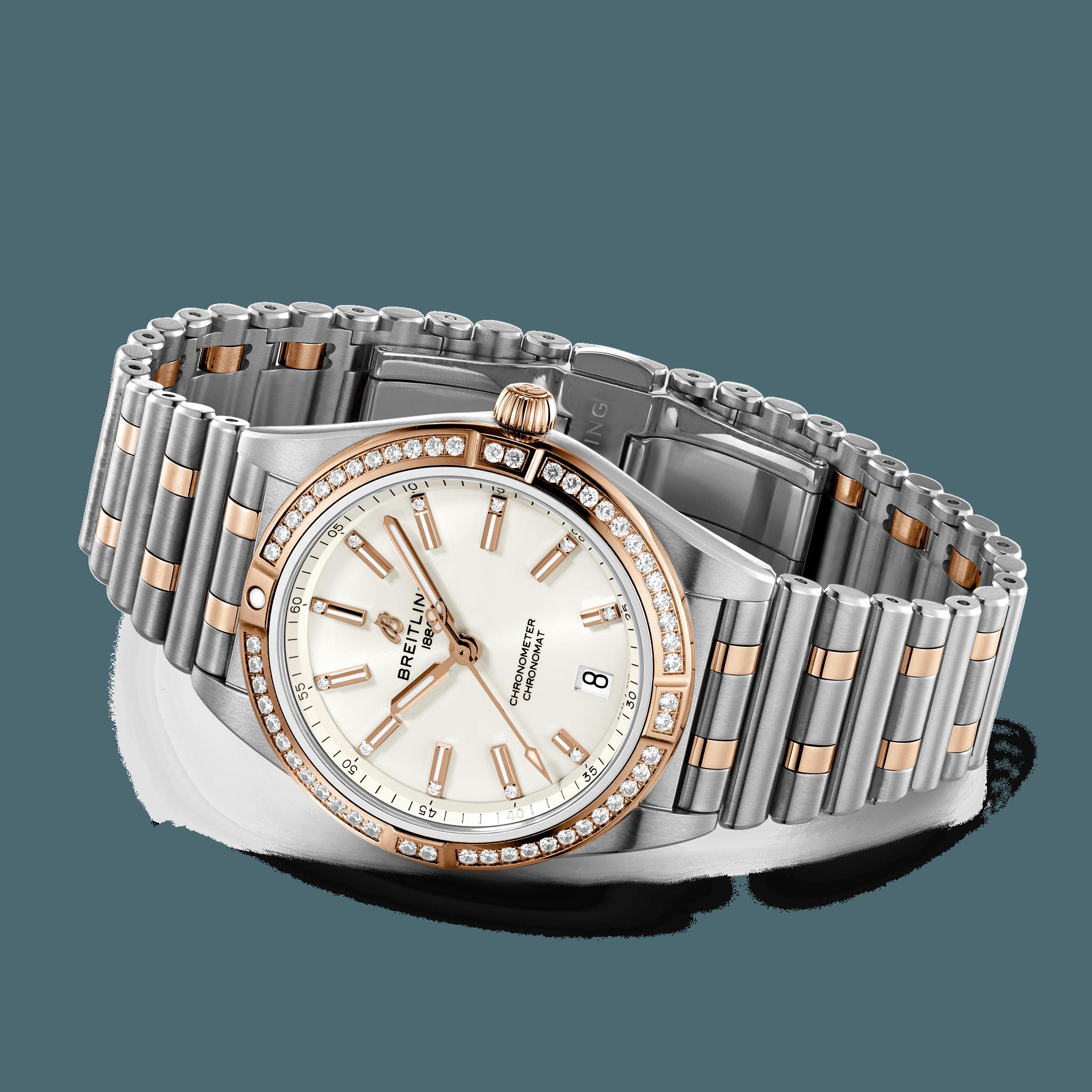Breitling Chronomat Automatic 36mm Diamantlunette Ref. u10380591a1u1